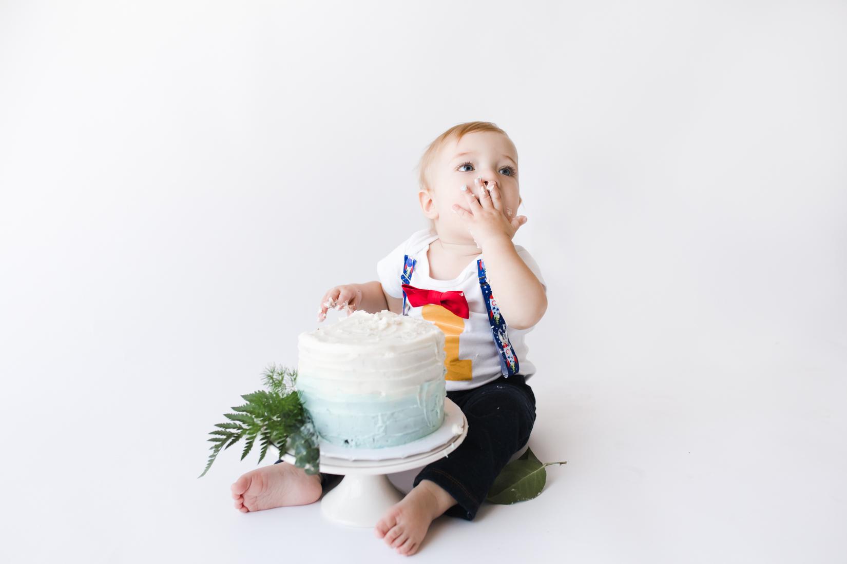 Groovy Cake Smash Otto Is One Phoenix Arizona Acapello Photography Birthday Cards Printable Trancafe Filternl